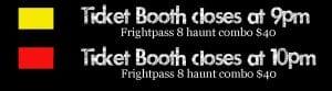 Frightland 2017 Calendar