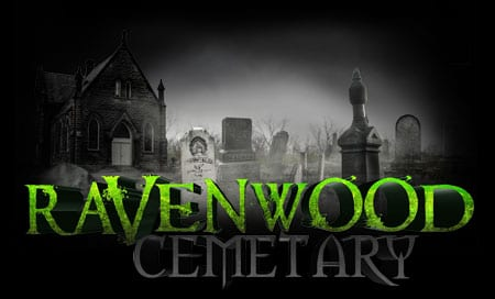Ravenwood Cemetery at Frightland