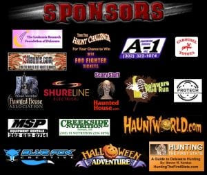 Frightland Sponsorships