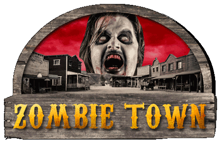 Zombie Ghost Town at Frightland