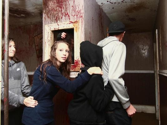 Delaware News Journal on Frightland Haunted House 20th year