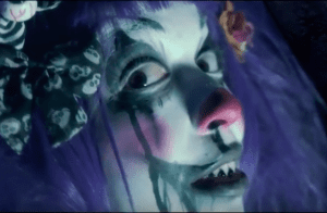 Frightland Haunted Attractions Zombie Clown Girl