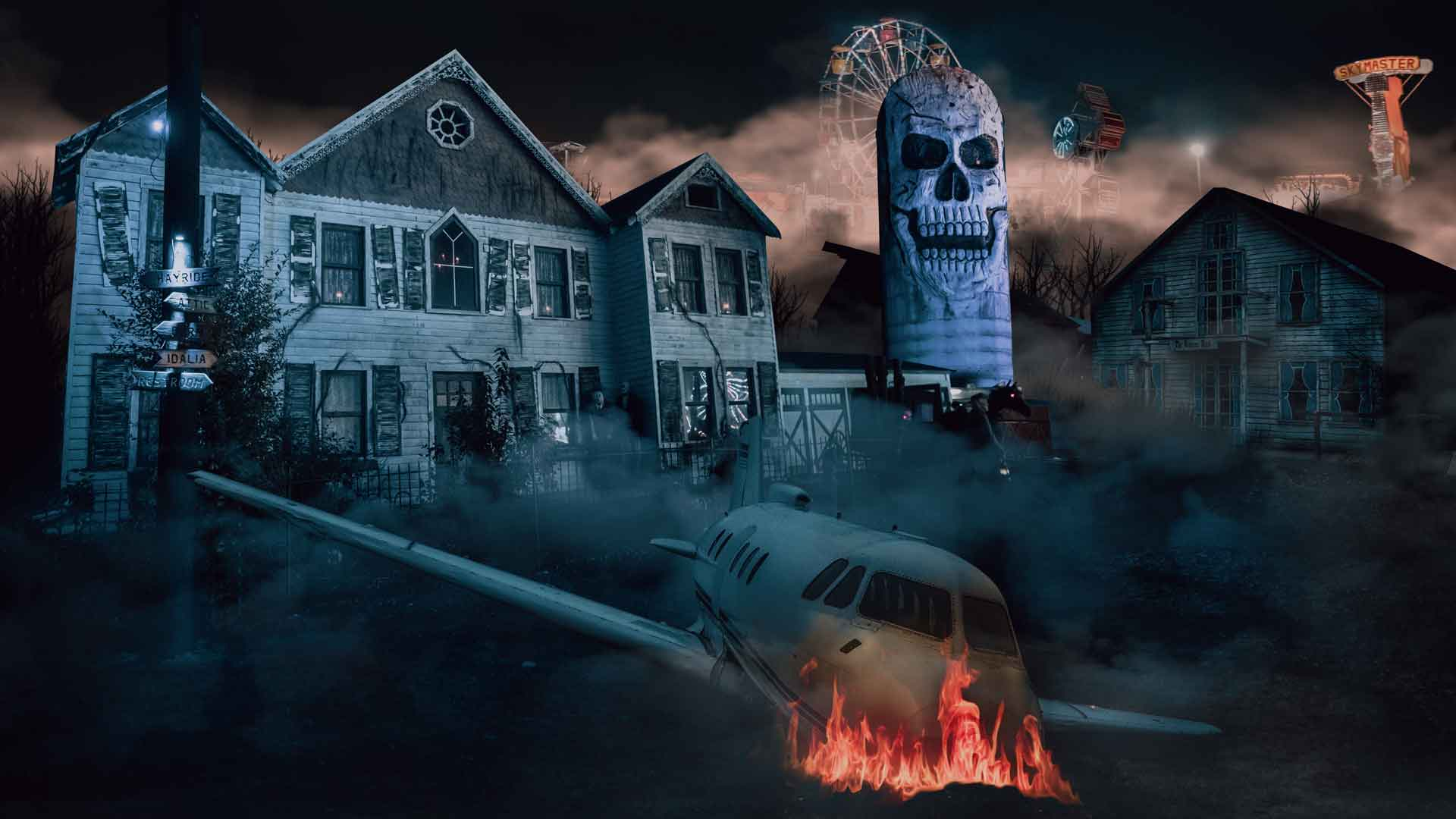 Frightland Haunted Attractions Named one of the top 10 scariest haunts in the country.